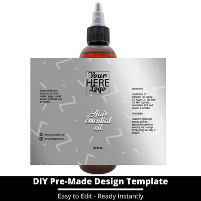 Hair Essential Oil Design Template 224