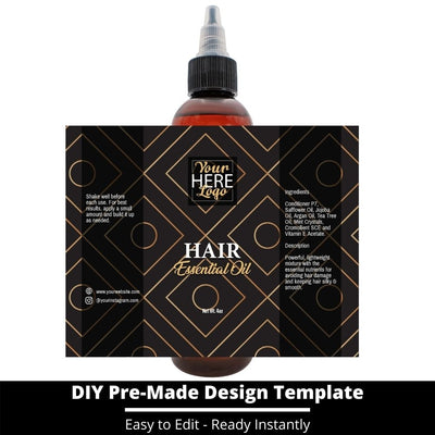 Hair Essential Oil Design Template 226