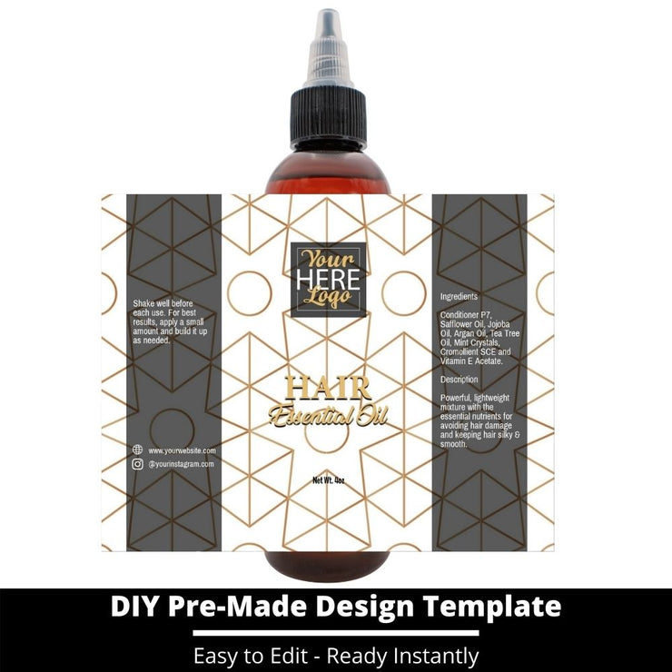 Hair Essential Oil Design Template 228
