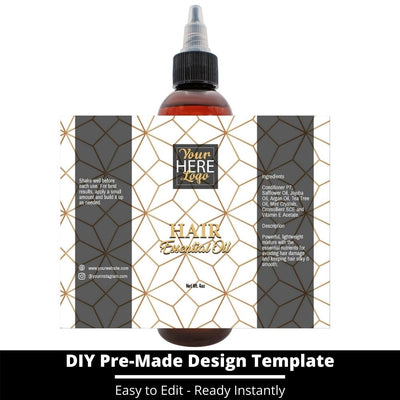 Hair Essential Oil Design Template 229