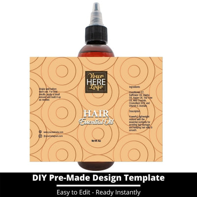 Hair Essential Oil Design Template 230