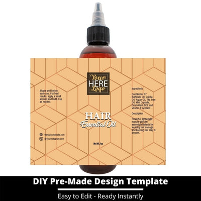 Hair Essential Oil Design Template 231