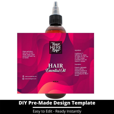 Hair Essential Oil Design Template 232