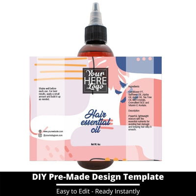 Hair Essential Oil Design Template 237