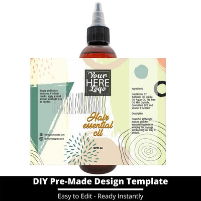 Hair Essential Oil Design Template 239