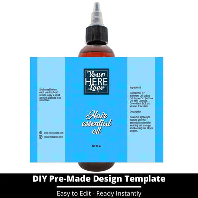 Hair Essential Oil Design Template 241