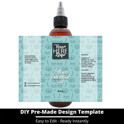 Hair Essential Oil Design Template 242