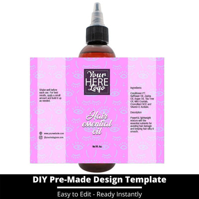 Hair Essential Oil Design Template 243