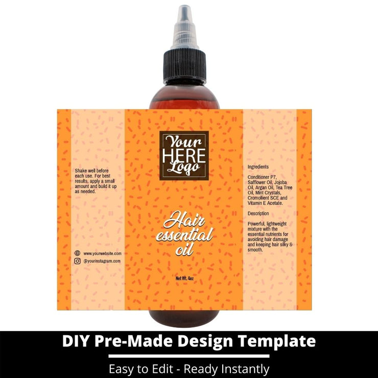 Hair Essential Oil Design Template 244