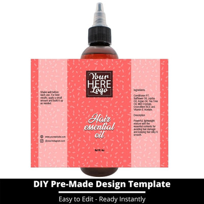 Hair Essential Oil Design Template 245
