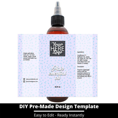 Hair Essential Oil Design Template 246