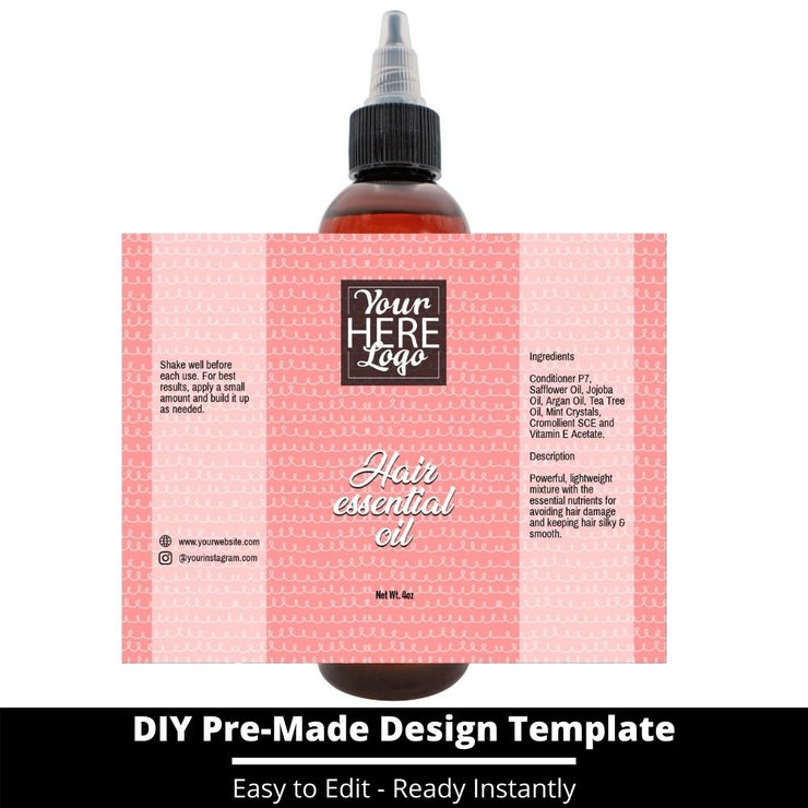 Hair Essential Oil Design Template 247