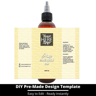 Hair Essential Oil Design Template 248