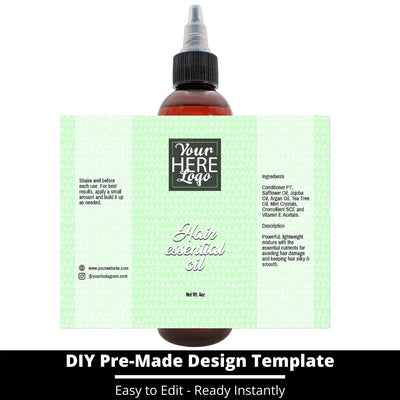 Hair Essential Oil Design Template 249