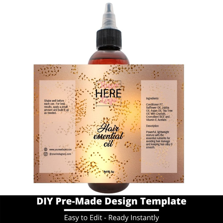 Hair Essential Oil Design Template 24