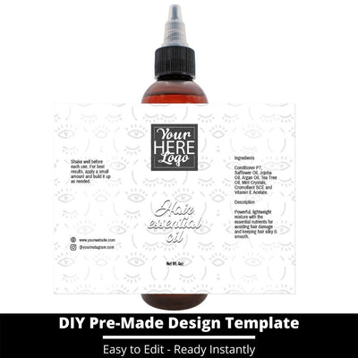 Hair Essential Oil Design Template 250