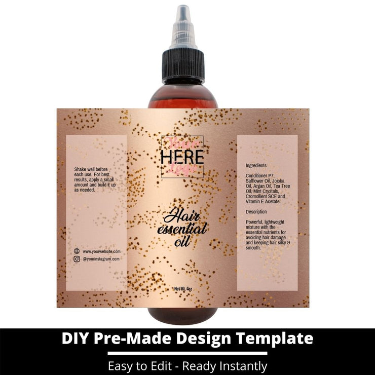 Hair Essential Oil Design Template 25