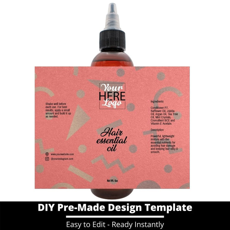Hair Essential Oil Design Template 27