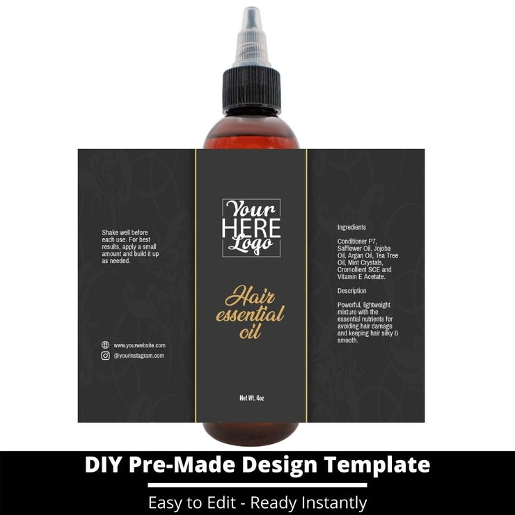 Hair Essential Oil Design Template 43