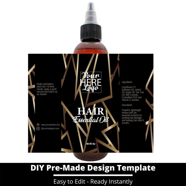 Hair Essential Oil Design Template 49