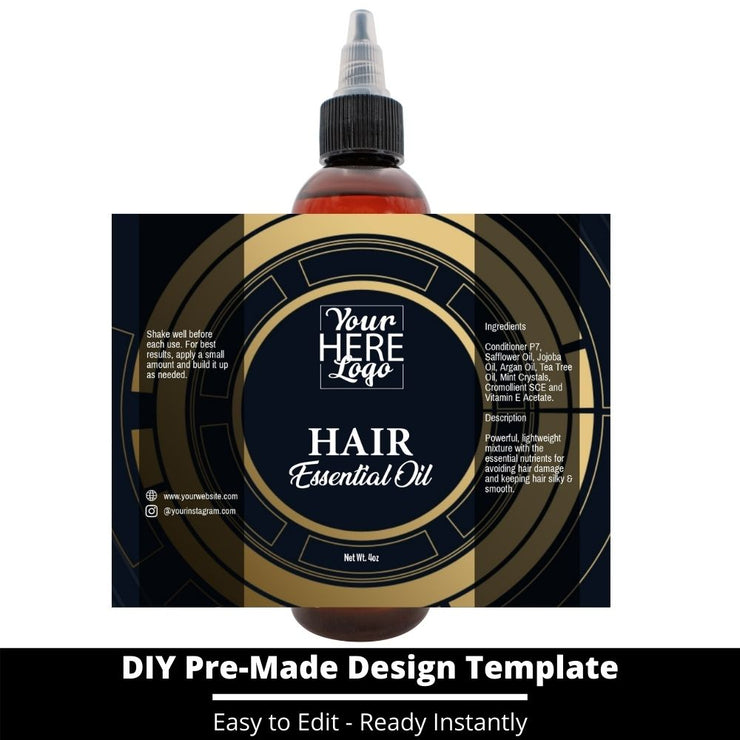 Hair Essential Oil Design Template 52