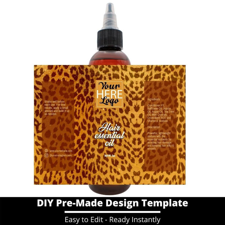 Hair Essential Oil Design Template 58