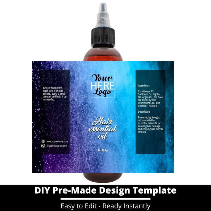Hair Essential Oil Design Template 60