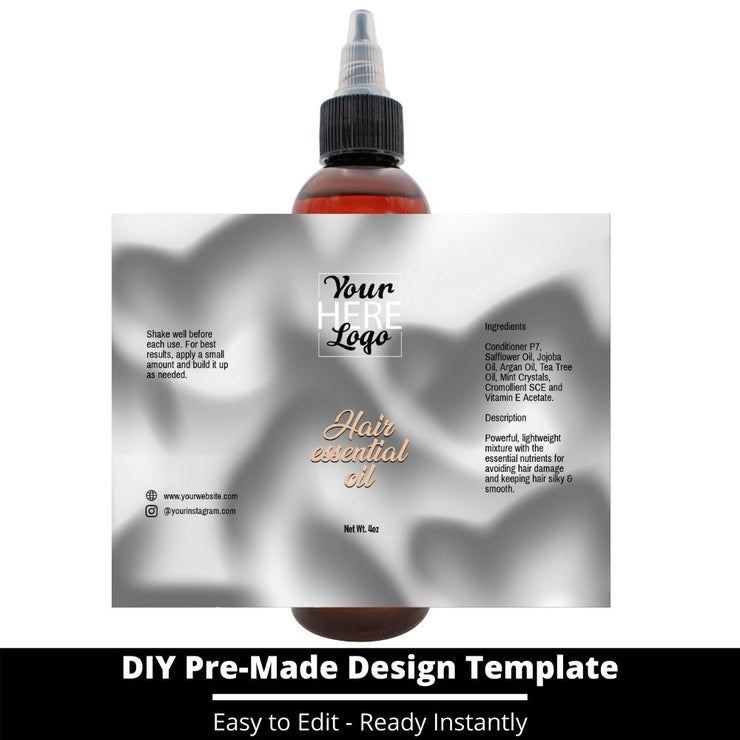 Hair Essential Oil Design Template 73