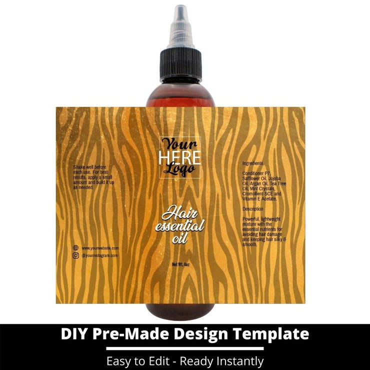 Hair Essential Oil Design Template 89