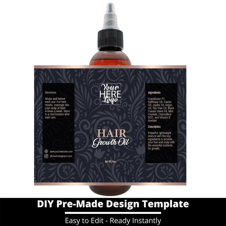 Hair Growth Oil Template 111