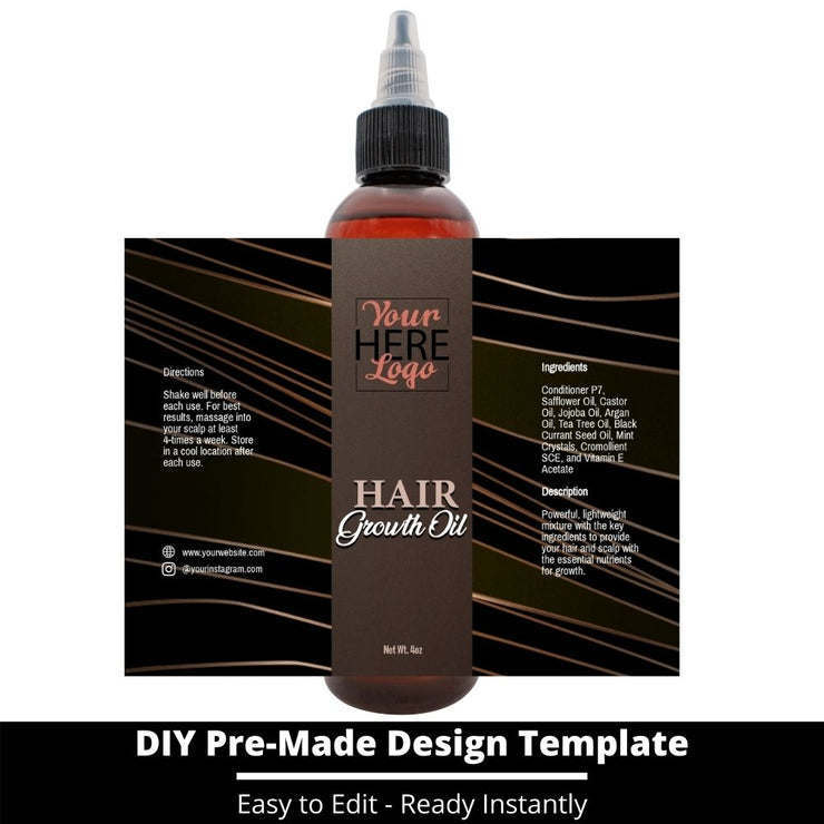 Hair Growth Oil Template 11
