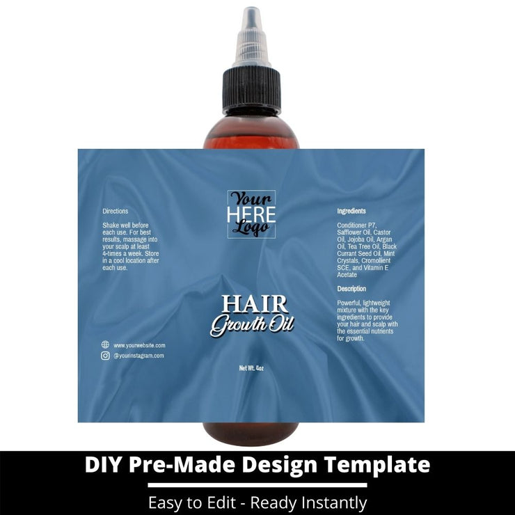 Hair Growth Oil Template 137