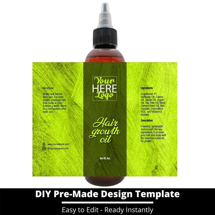 Hair Growth Oil Template 149