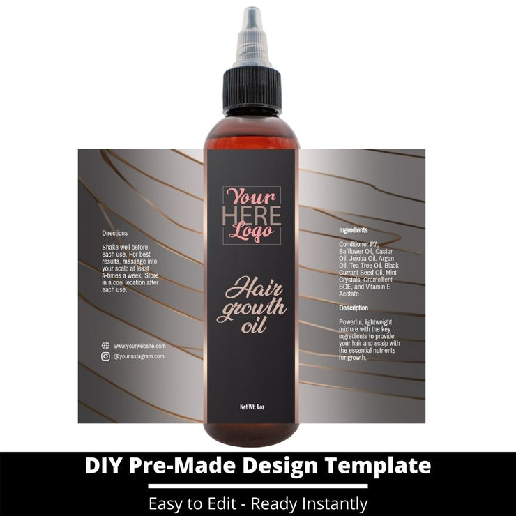 Hair Growth Oil Template 15