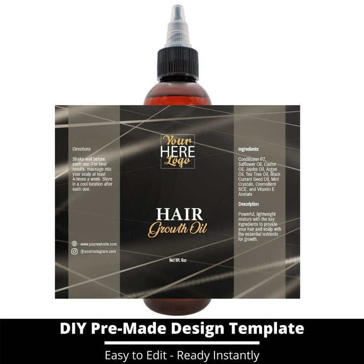 Hair Growth Oil Template 171