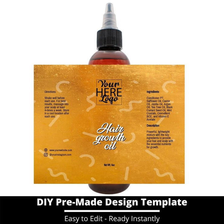 Hair Growth Oil Template 213