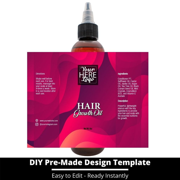 Hair Growth Oil Template 232