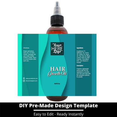 Hair Growth Oil Template 233