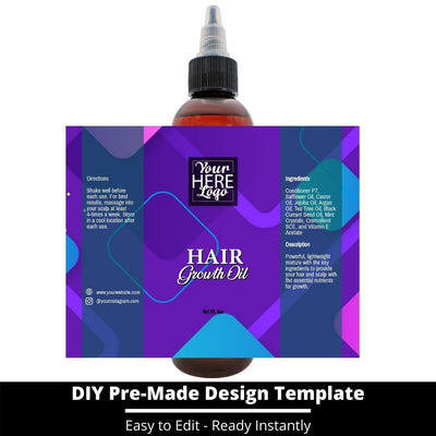 Hair Growth Oil Template 235