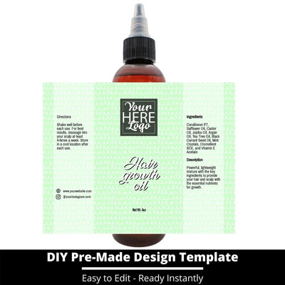 Hair Growth Oil Template 249