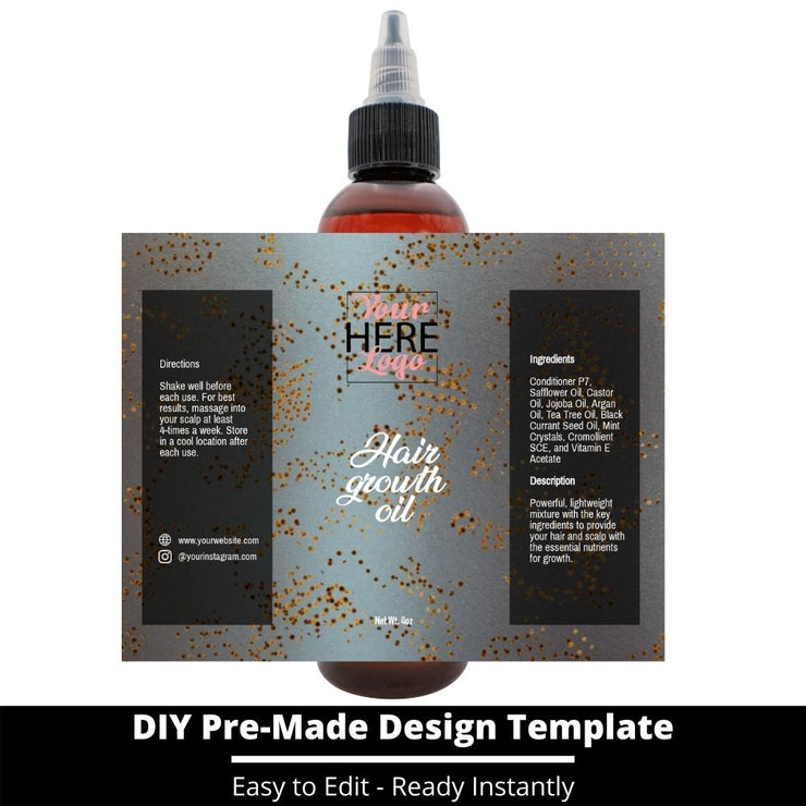 Hair Growth Oil Template 26