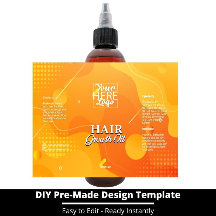 Hair Growth Oil Template 45