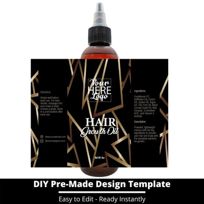Hair Growth Oil Template 49