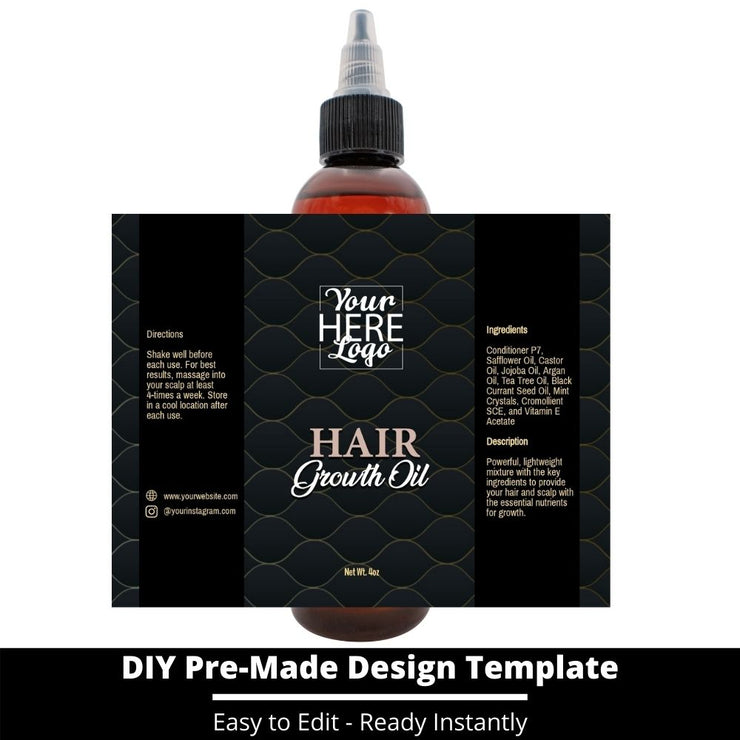 Hair Growth Oil Template 51