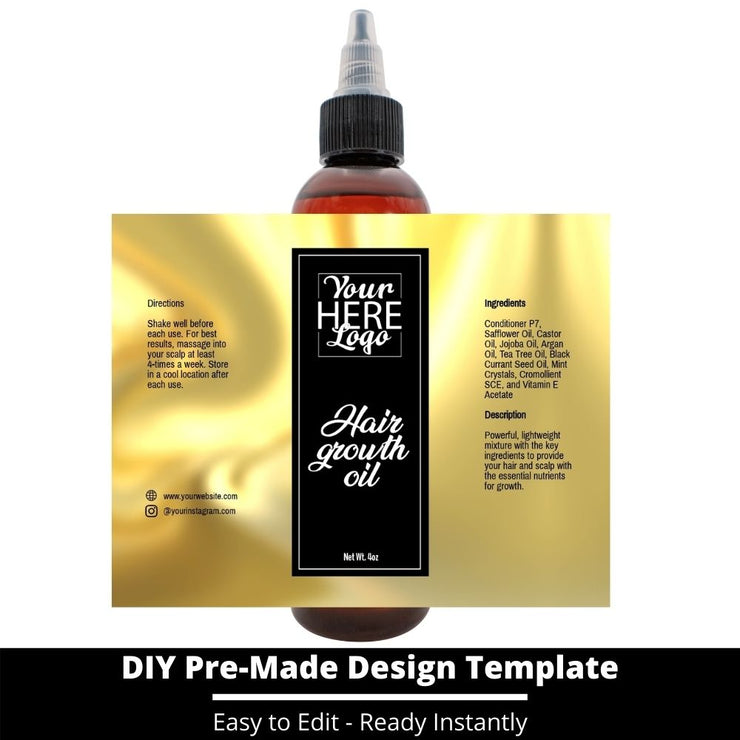 Hair Growth Oil Template 62