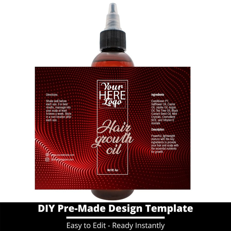 Hair Growth Oil Template 80