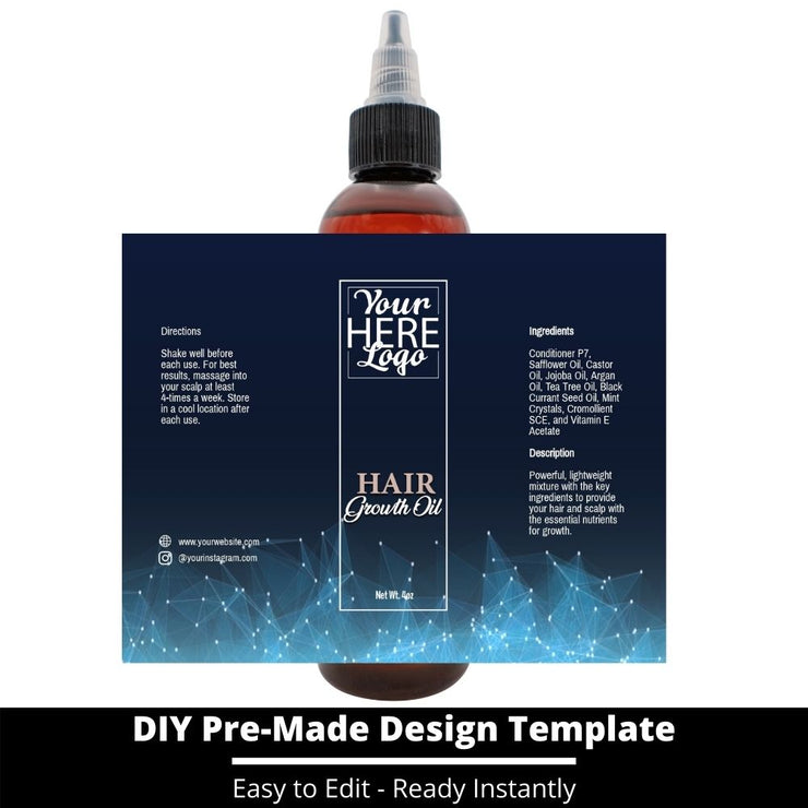 Hair Growth Oil Template 82