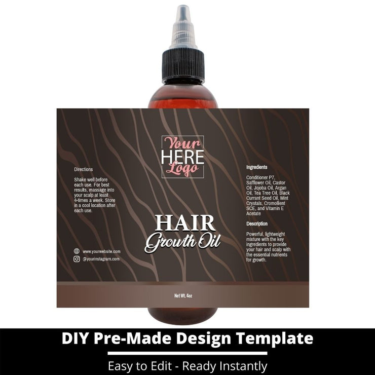 Hair Growth Oil Template 8