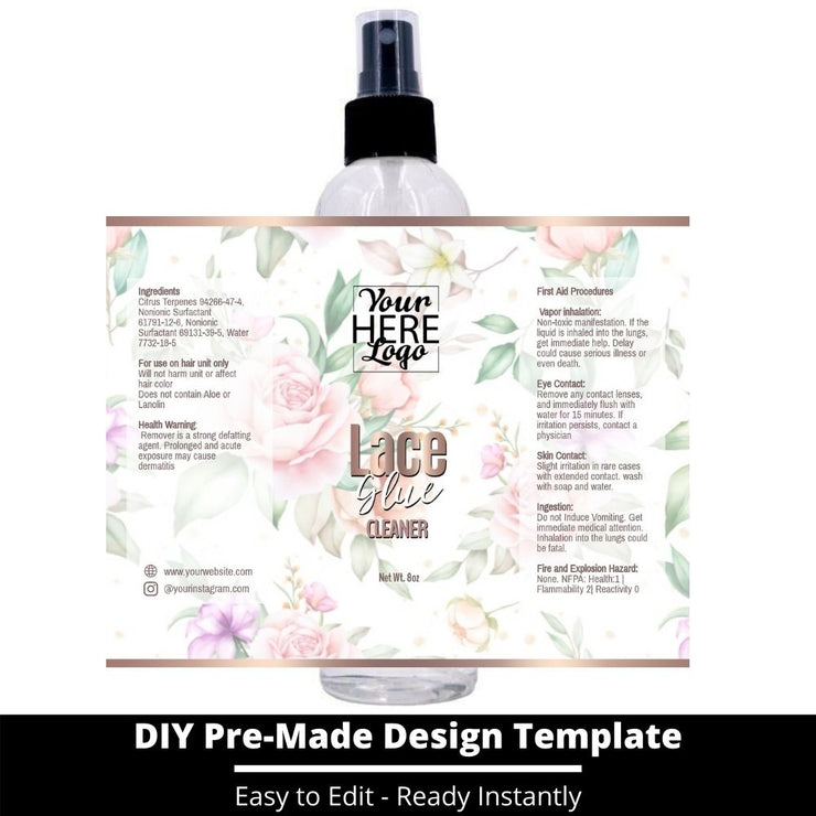 Lace Glue Cleaner Template 109