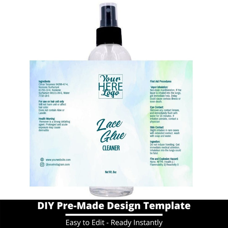 Lace Glue Cleaner Template 113
